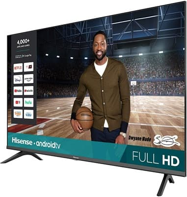 Hisense 43H5500G: 43 '' Full HD Smart TV with Google Assistant, Android TV and integrated Bluetooth
