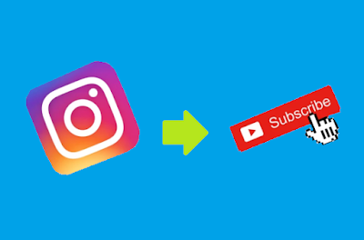 Convert Instagram followers to YouTube subscribers