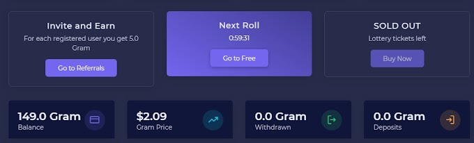 Gram free coin घर बैठे करें महीने की 70 हजार कमाई