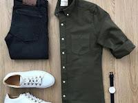 Celana Hitam Cocok Dengan Baju Warna Apa Pria