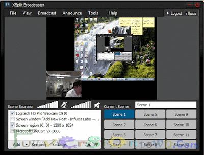 SplitmediaLabs XSplit Broadcaster Studio 2.7.1602.2231 Full Crack
