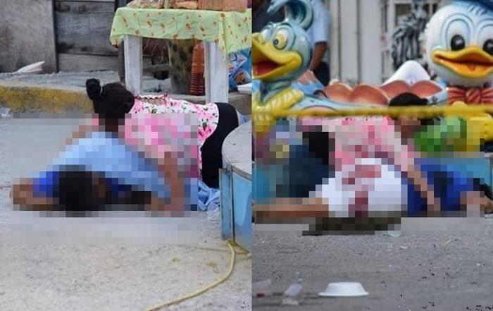 Sicarios ejecutan a sangre fría a una Niña de 3 años y una vendedora de elotes en feria en Chilpancingo, Guerrero