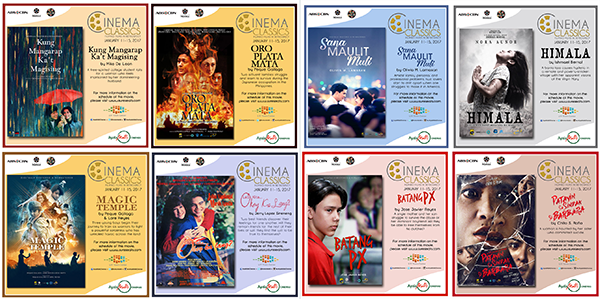 Ayala Malls Cinemas screen Filipino Cinema Classics at UP Town Center on Jan 11-15