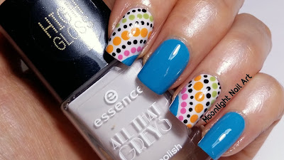 Easy Dotticure Nail Art Design