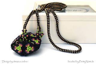 Kaleidocycle beaded by PrettyNett.de