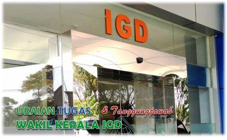 Tugas Dan Tanggungjawab Wakil Kepala ruang IGD