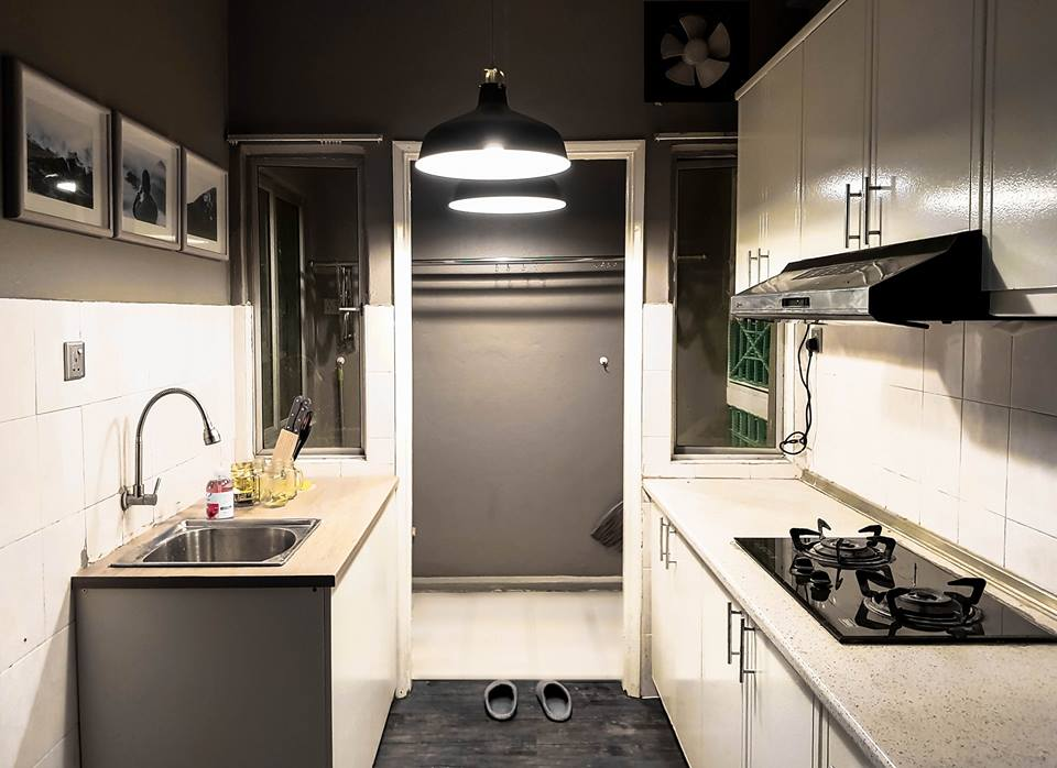 Untuk Dapur Saya Dapatkan Modular Cabinet Dari Ikea Dicantum Cantum Dijadikan Kitchen Barang Seperti Sinki Etc Di