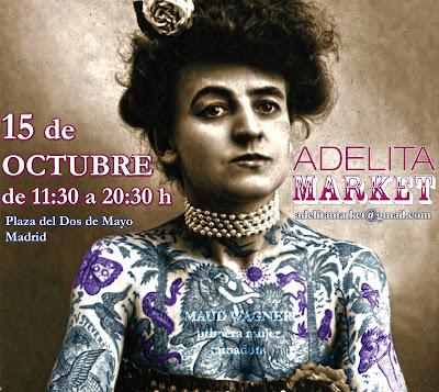 Adelita Market este fin de semana en la Plaza del Dos de mayo