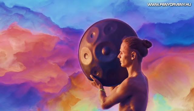 Hang Drum/hang pan & furulya - Relaxációs, meditációs zene (madár és eső hangokkal)