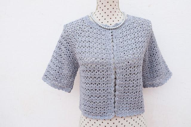 1 - Crochet Bolero para mujer a crochet y ganchillo Majovel Crochet facil sencillo bareta paso a paso DIY puntada punto alto punto bajo