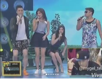 Watch How Angel Locsin Played The Invisible Volleyball With The Showtime Hosts! Hilarious!