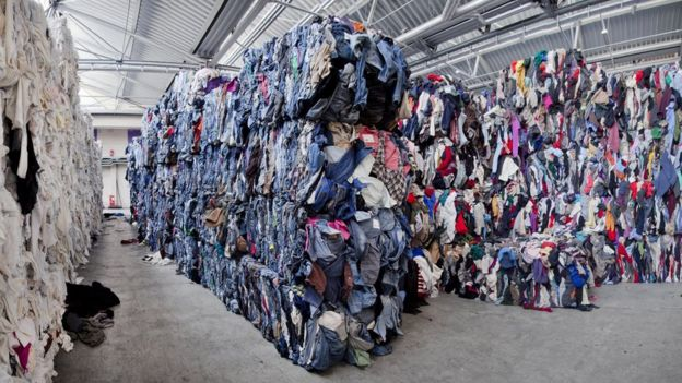 post-consumer textile waste and recycling