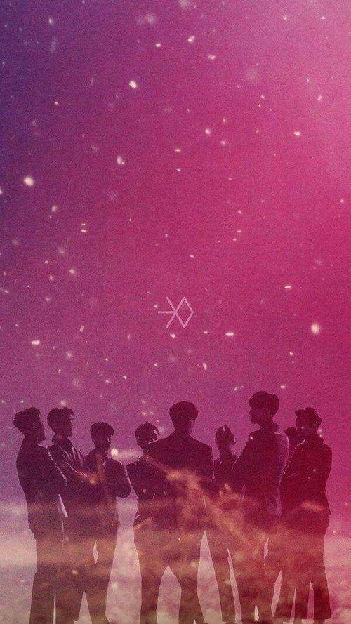Hình nền điện thoại nhóm nhạc EXO 12