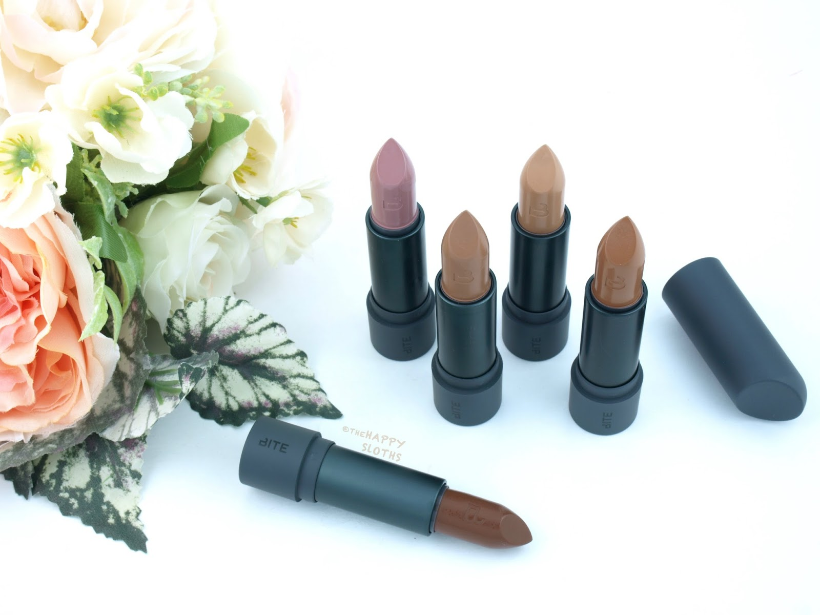 Bite Beauty Amuse Bouche Lipstick Edgy Neutrals Collection: Review and Swatches