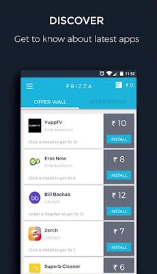 Frizza app