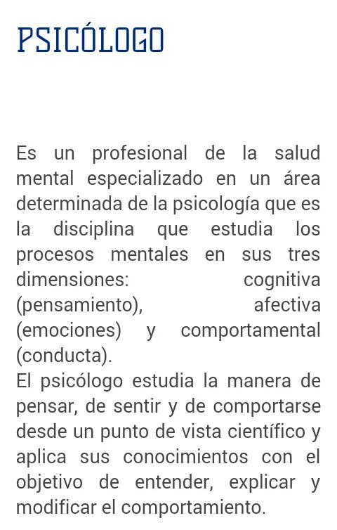 Psicologia unitec que es la psicolog a for Que es divan en psicologia