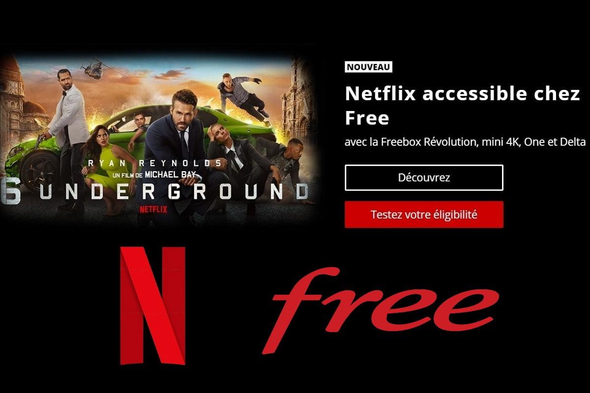 netflix sur freebox revolution