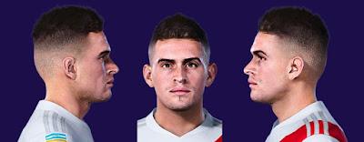 PES 2021 Faces Rafael Santos Borré by Valentinlgs10