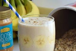 Banana Oatmeal Breakfast Smoothie