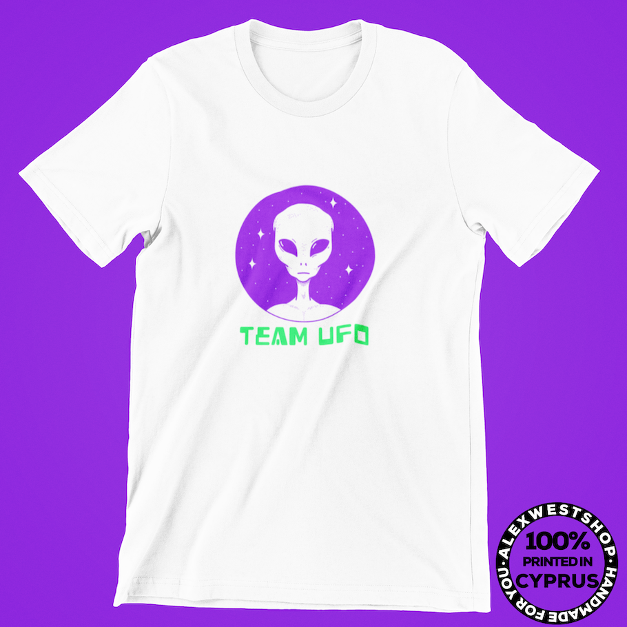 alien t shirt neon cool funny spreadshirt redbubble teepublic