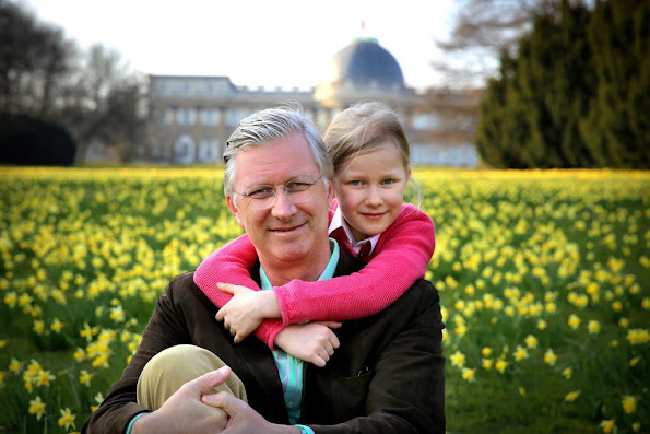 Princess Eleonore - King Philippe of Belgium celebrates his 56th birthday on Friday 15 April.