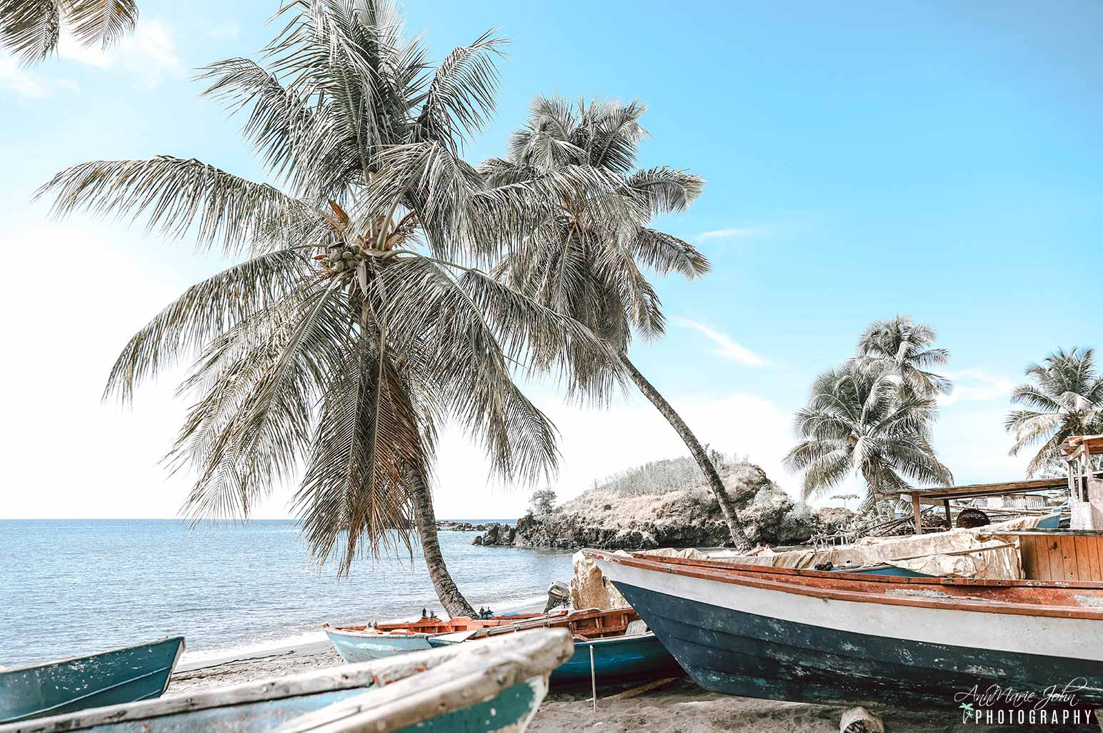 Caribbean Beach Scene