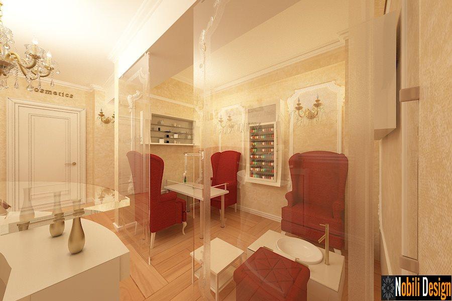 Design interior vila moderna Targoviste - Design interior casa stil clasic Targoviste / Arhitect  | Salon de infrumusetare - Coafor - Cosmetica