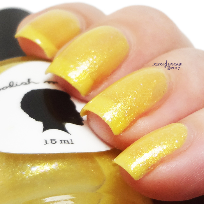 xoxoJen's swatch of Polish My Life Golden Sunsets