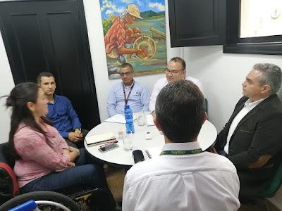 Reunión inicial con las empresas Expertos en Seguridad y Covitec