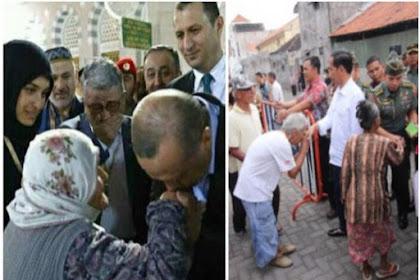 Perbandingan Akhlak Jokowi dan Erdogan Dalam Menghormati Orang Tua