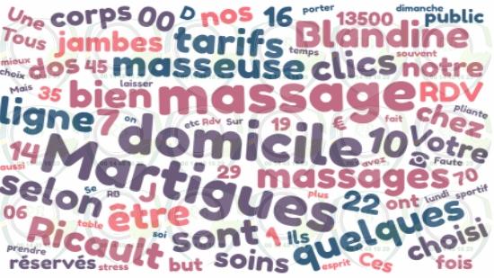 Réservez votre massage a domicile sur Martigues;