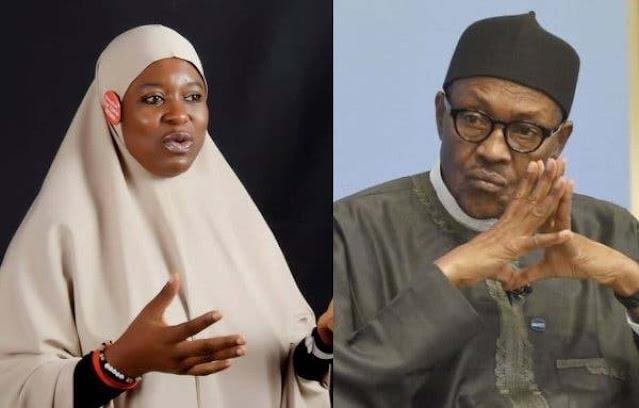 President Buhari's body language encourages terrorists – Aisha Yesufu says