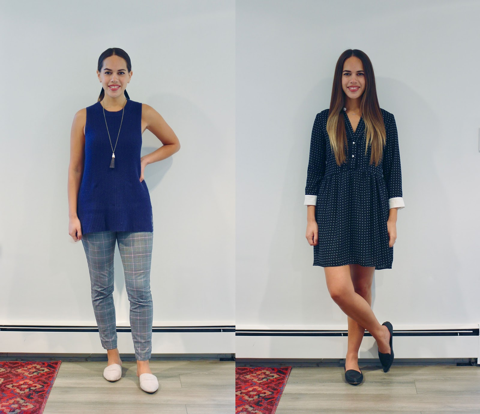 Jules in Flats September Outfits(Business Casual Workwear on a Budget)