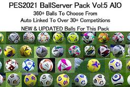 New Balls Server V5 Season 2021 AIO - PES 2021
