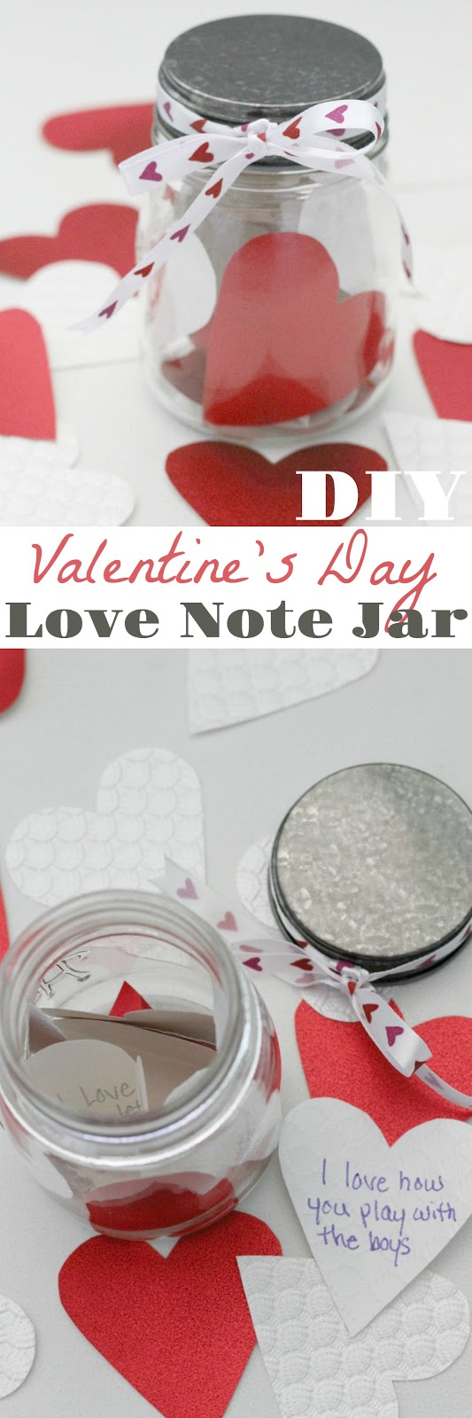 This easy DIY is a great gift for a loved on that doesn't involve candy for Valentine's Day