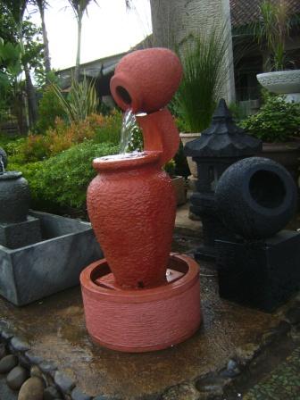 air mancur taman & pot: gentong
