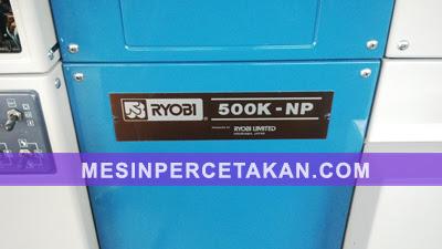 Ryobi 500K NP mesin cetak