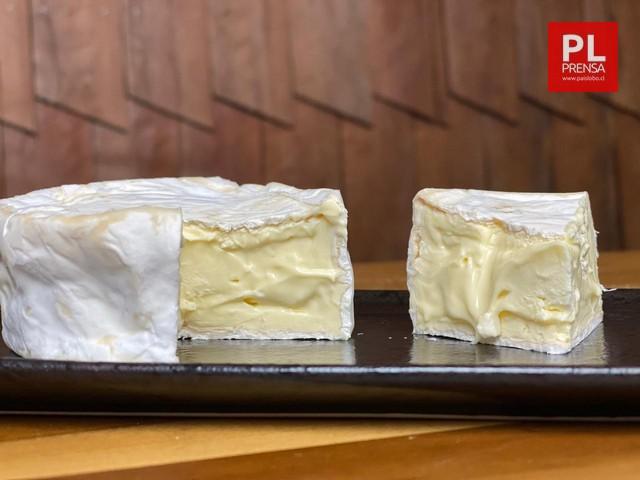 Crèmeux de lîle queso triple crema con cobertura de penicillium