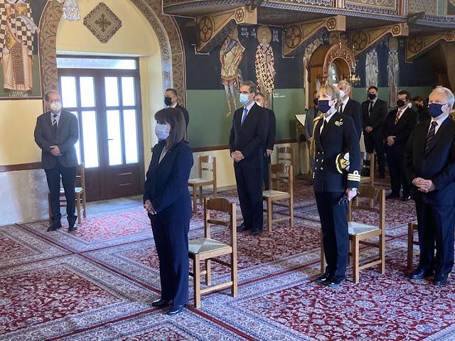 Παρουσία της Προέδρου της Δημοκρατίας τίμησαν στη Νέα Επίδαυρο την 199η επέτειος της Α΄ Εθνοσυνέλευσης