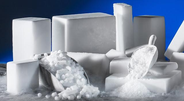 كيفية صنع الثلج
