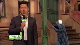 Mario Lopez, Veggie Monster Cookie Monster, Sesame Street Episode 4305 Me Am What Me Am