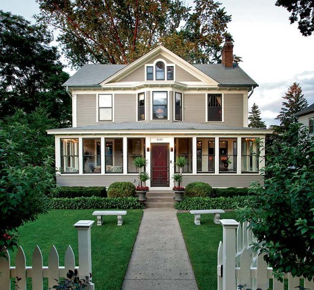 Desain Eksterior Rumah Antik
