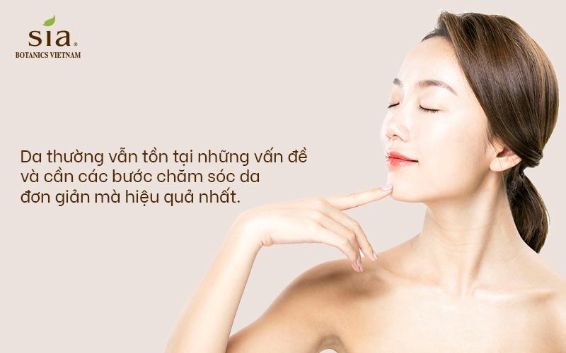 da thường có các đặc điểm nhận biết để bạn có  thể sử dụng các bước chăm sóc da thường
