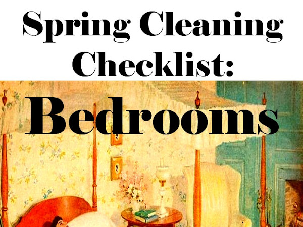 Spring Cleaning Checklist: Bedrooms