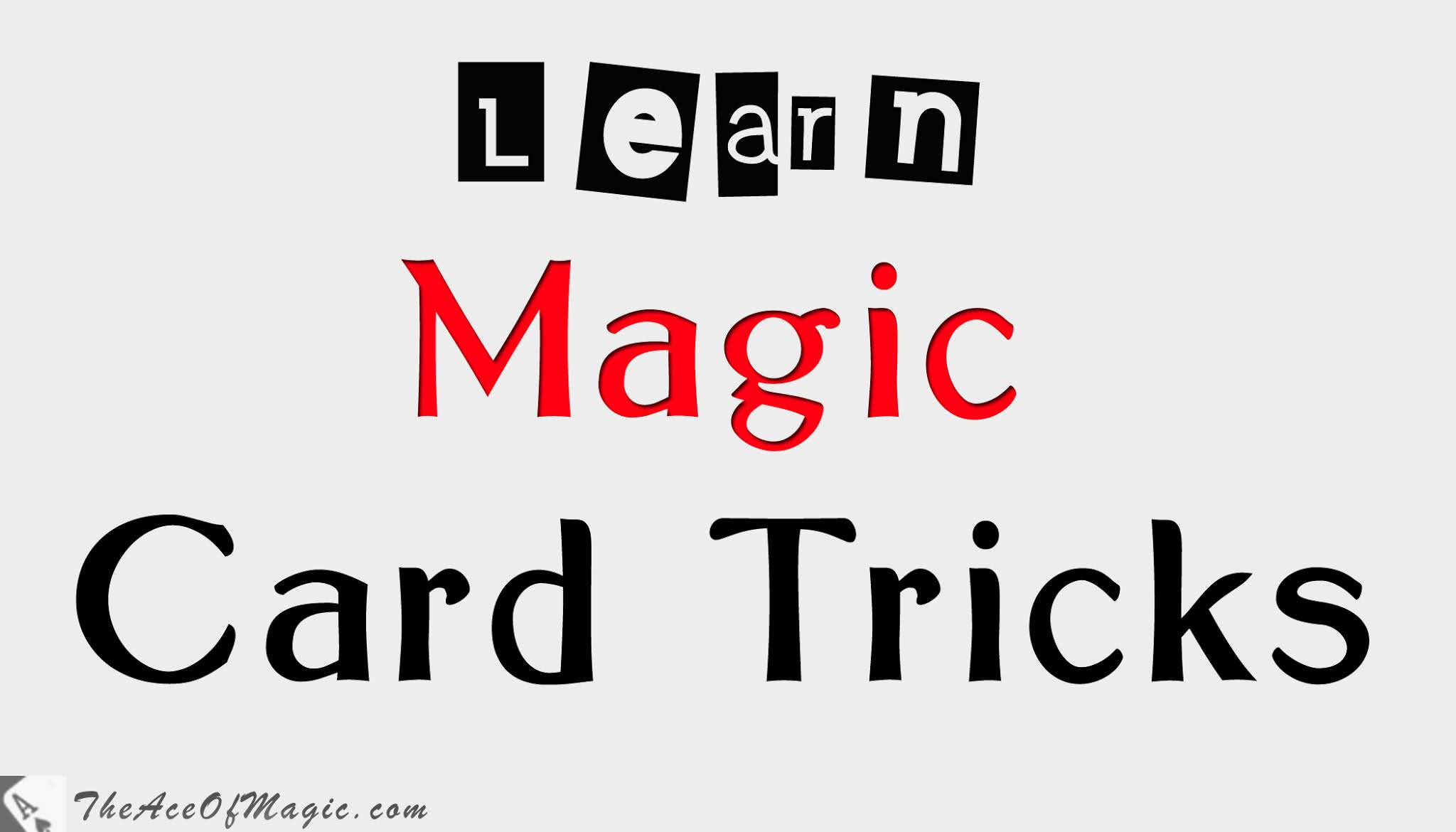 Magic Card Tricks