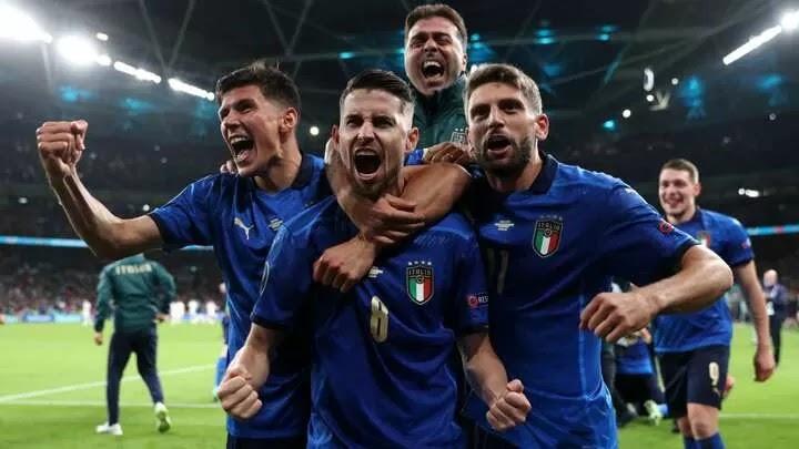 Italy match Brazil & Spain unbeaten run record of 35 games