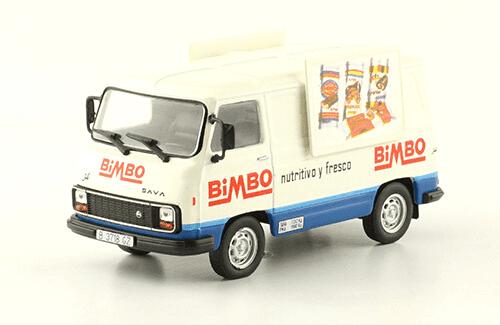 Pegaso J4 1984 Bimbo vehículos de reparto y servicio salvat