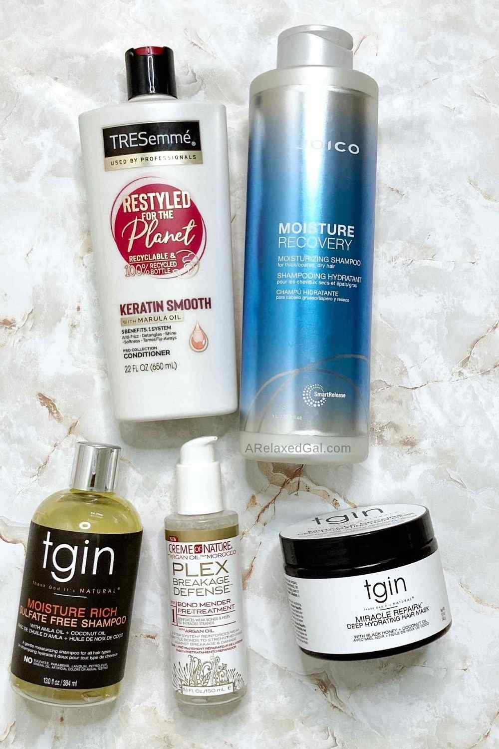Wash Day Routine Post Relaxer Products   A Relaxed Gal