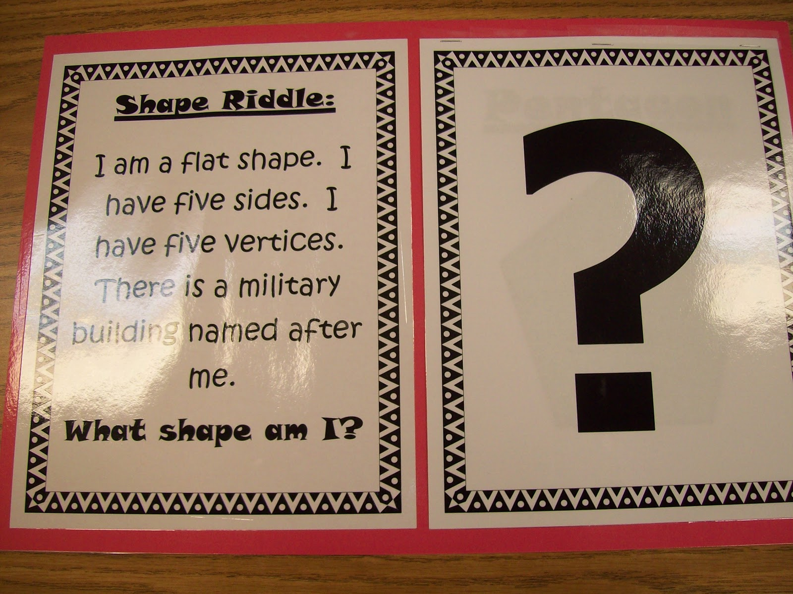 Teaching With Terhune Shape Riddles