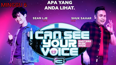 Live Streaming I Can See Your Voice Malaysia 2020 Minggu 6